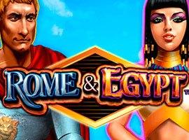 Roma y Egipto - Reseña de  tragamonedas Gratis