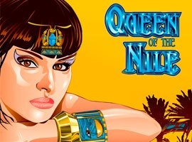 Queen of the Nile - Reseña de  tragamonedas Gratis