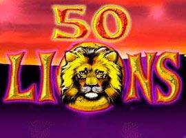 50 Lions - Reseña de  tragamonedas Gratis