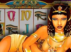 Cleopatra Reina de Egipto - Reseña de  tragamonedas Gratis