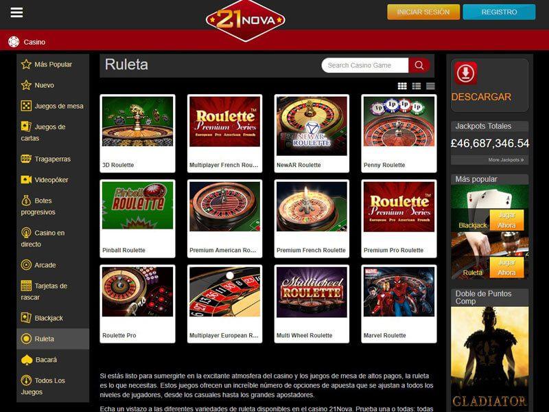 21 Casino Nova