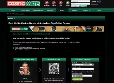 Casino Mate play online bonus