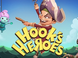 Hook\'s Heroes Pokie Review
