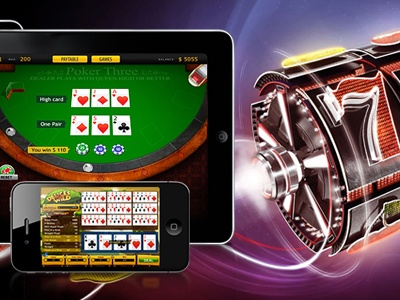Play online slots from your mobile casino