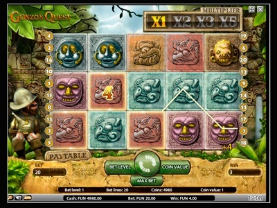 Gonzo's Quest Pokie Review