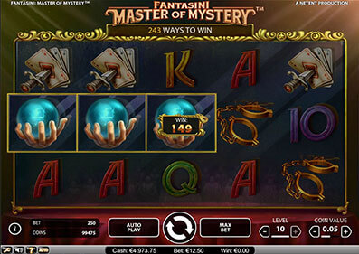 Fantasini: Master of Mystery Pokie Review