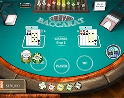 Baccarat play online for free
