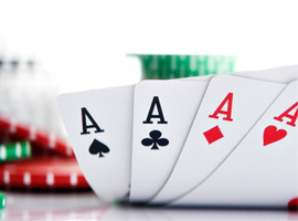 Online Video Poker - learn how to play casino poker games for free!