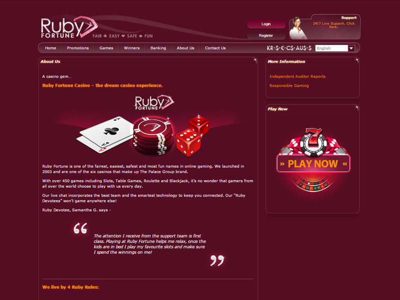 How to Find a Free Ruby Fortune On line casino Slot Internet site