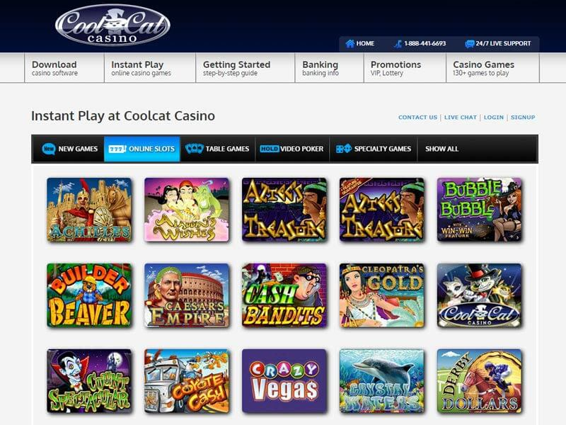 Cool Cat Casino Instant Play