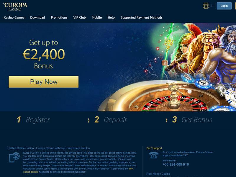 топ онлайн казино европы