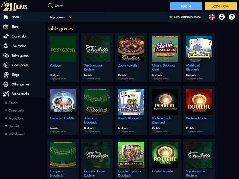 21 Duke Casino
