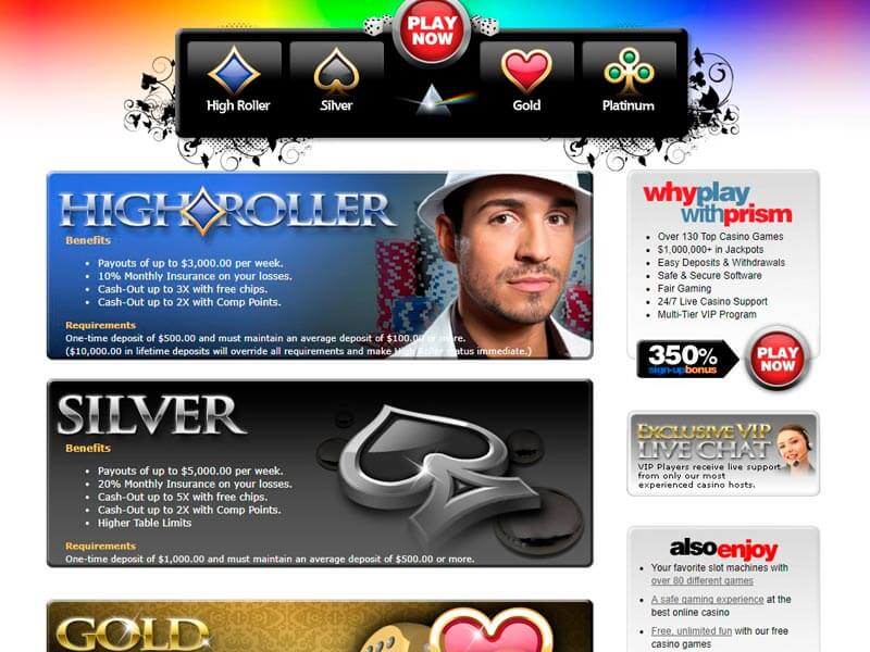 Prism Online Casino Instant Play