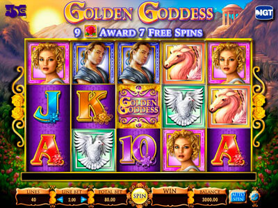 Golden Goddess Slots