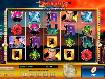 Shogun Showdown Slot Machine – Play in Your Browser for Free