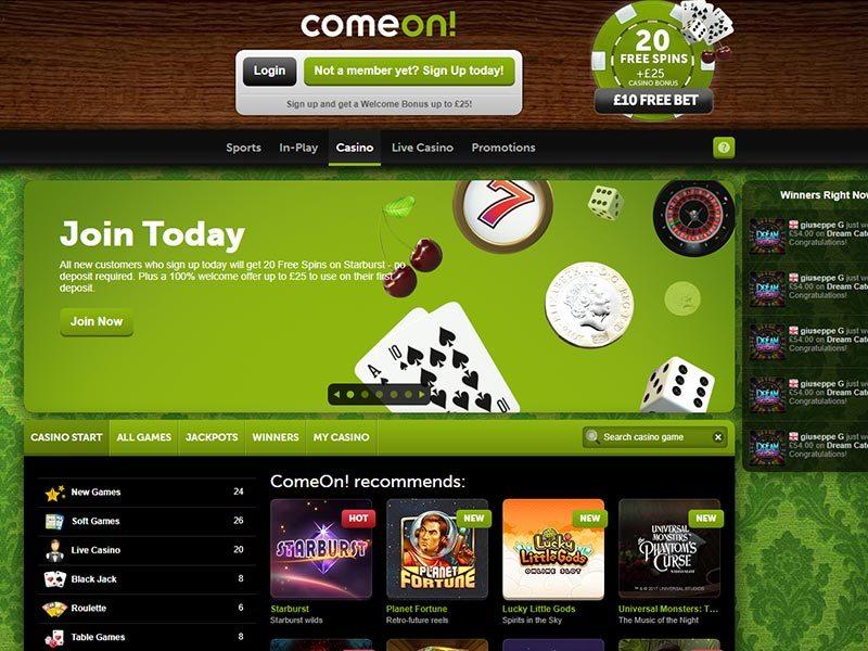 Comeone Casino