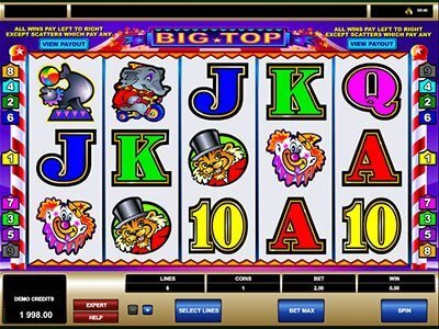 The Big Top Slot