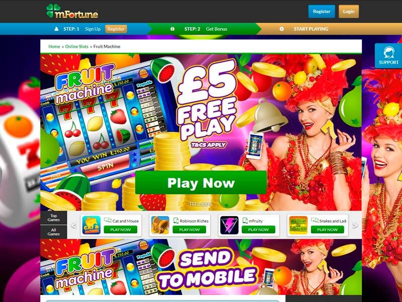 Mfortune Casino Review