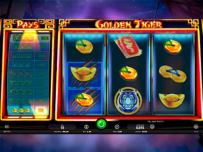 Golden Tiger Pokie Review