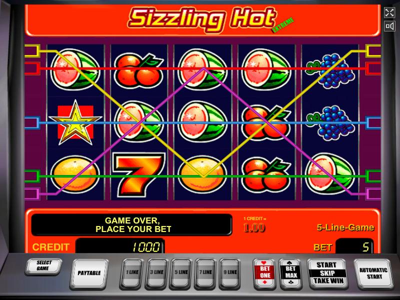 Machine A Sous Sizzling Hot