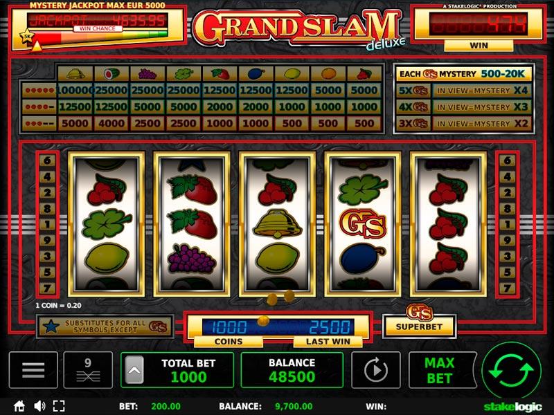 Keno slot games