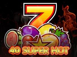 40 Super Hot slot – postaw wszystko na jedną kartę w progresywnym jakcpocie