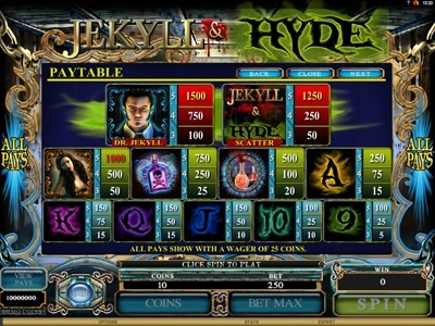 Jekyll and Hyde Slot