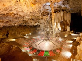 Archaeologists found the first American casino in the cave