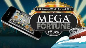 A Lucky winner of £2 million at Mega Fortune mobile slot