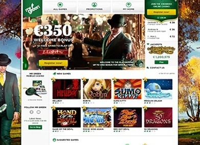 mr green casino play online bonus