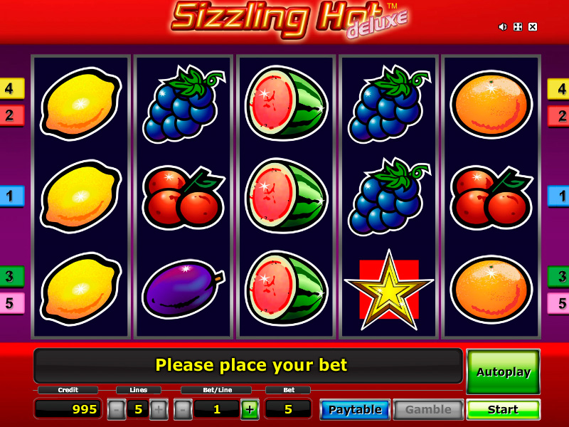 Sizzling Hot Free Game Play