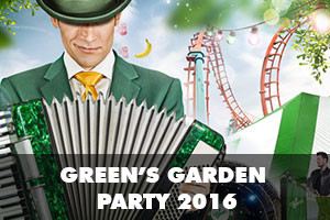 Celebrate spring at MrGreen's Garden Party with 20 daily free spins