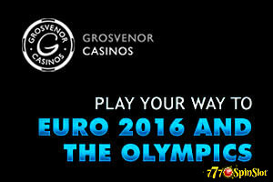 Casino Grosvenor: win Euro 2016 and the Olympic tickets in our casino