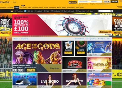 betfair casino play online bonus