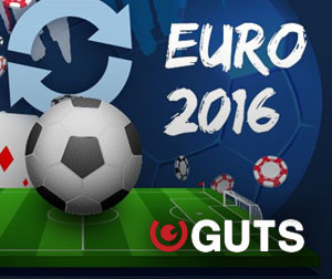 Take part in EURO 2016 promotion with Guts Casino