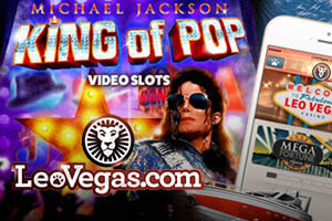 New promotion from Leo Vegas and Michael Jackson slot