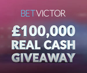 Enjoy £100,000 in CASH with BetVictor casino promotion