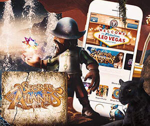 LeoVegas Casino gives a share of €£$120,000 in Quest For The Secret Kingdom promotion