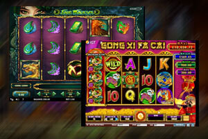 IGT and Play 'N Go new slots