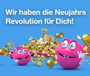 Unique New Year Revolution prize draw at Vera and John Casino
