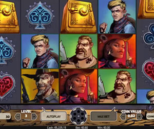 Slot machine Wild Wild West: The Great Train Heist
