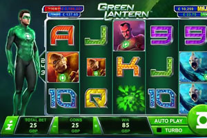 Playtech Releases A New Slot Green Lantern