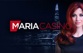 Maria Casino Review – Up To £100 Welcome Bonus+ 40 Free Spins