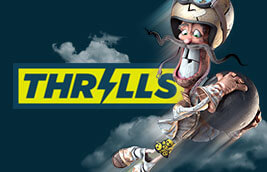 Thrills Casino Review – 200% Bonus and 20 Free Spins on NetEnt's StarBurst