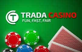 Trada Casino Review: Up to 50 Free Spins and 200% Match Deposit Bonus