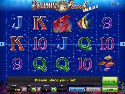 Spiele den Dolphins Pearl deluxe Spielautomat und andere Spiele bei Casumo.com