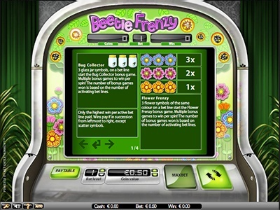 Beetle Frenzy Slots - spil Beetle Frenzy Slots online nu.