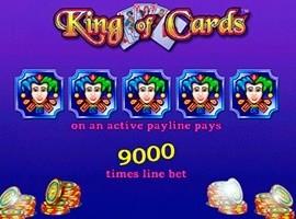 King of Cards kostenlos online spielen