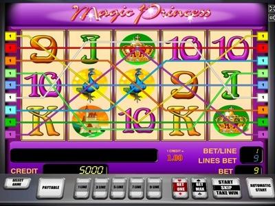 Magic Princess Spielautomat - Spielen Sie dieses Spiel kostenlos online