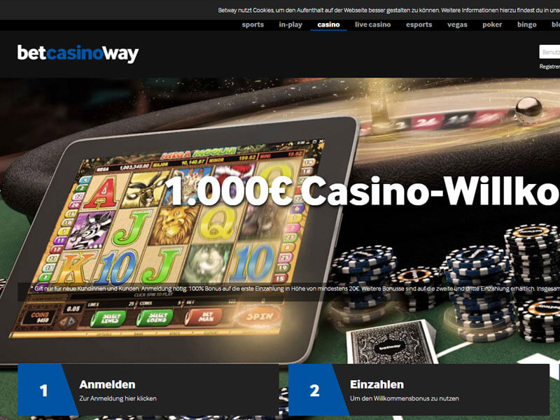 how to play betway casino games